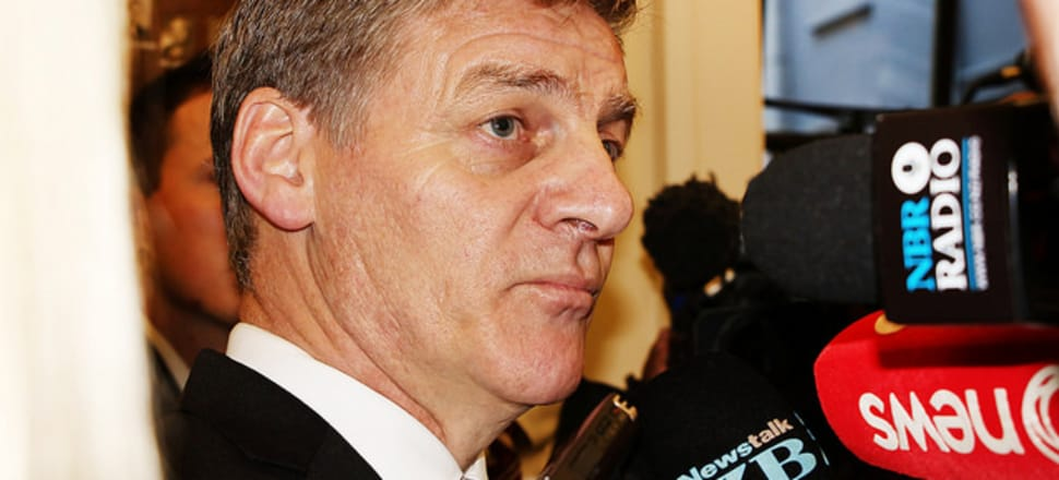 Prime Minister Bill English was repeatedly asked if Barclay had told him about recording staff, but said he could not remember. Photo: Lynn Grieveson