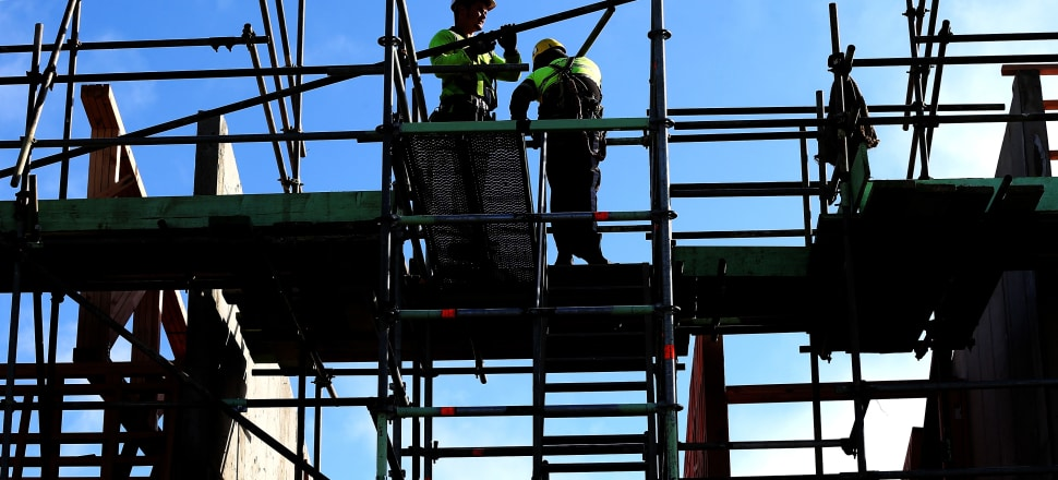 Industries in New Zealand such as construction and catering have been increasingly relying on labour hire firms. Photo: Getty