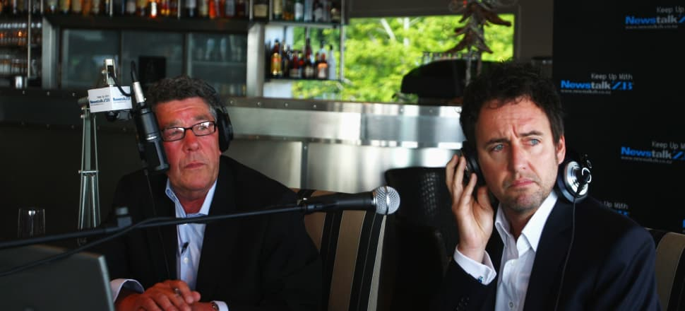 Mike Hosking inherited Paul Holmes' ratings juggernaut. Photo: Getty Images