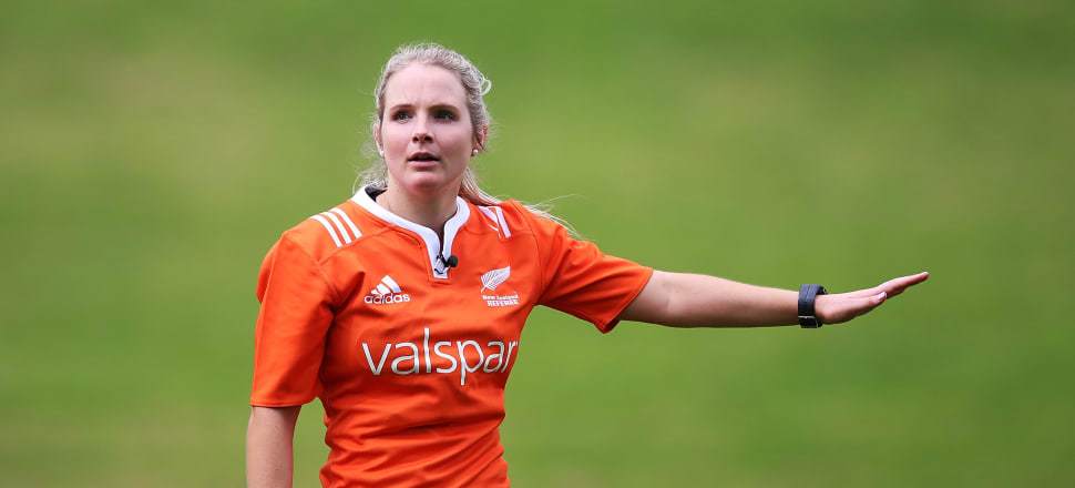 Women Refs Rising To Rule Over Men S Rugby