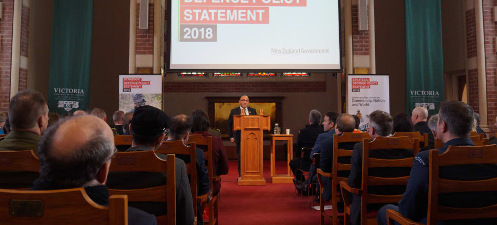 """Defence Minister Ron Mark says the Government's new defence strategy reflects """"turbulent times"""" in the world. Photo: Sam Sachdeva."""