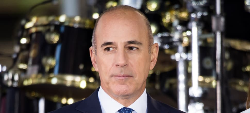 Former NBC Today Co-Host Matt Lauer attends NBC's 'Today' in September 2017. Photo: Getty Images
