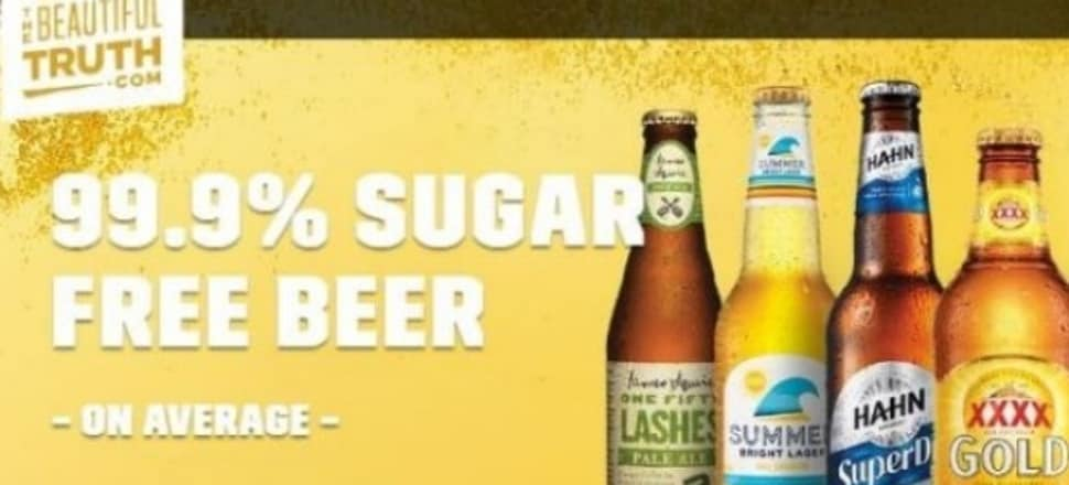Sugar-free beer seems laudable, but is all what it seems? Photo: Brewers Association
