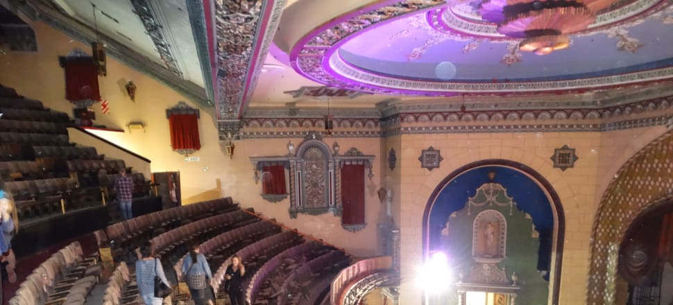 The restoration of the St James theatre is financed and all set to go - but there's a massive hitch. Photo: Alexia Russell