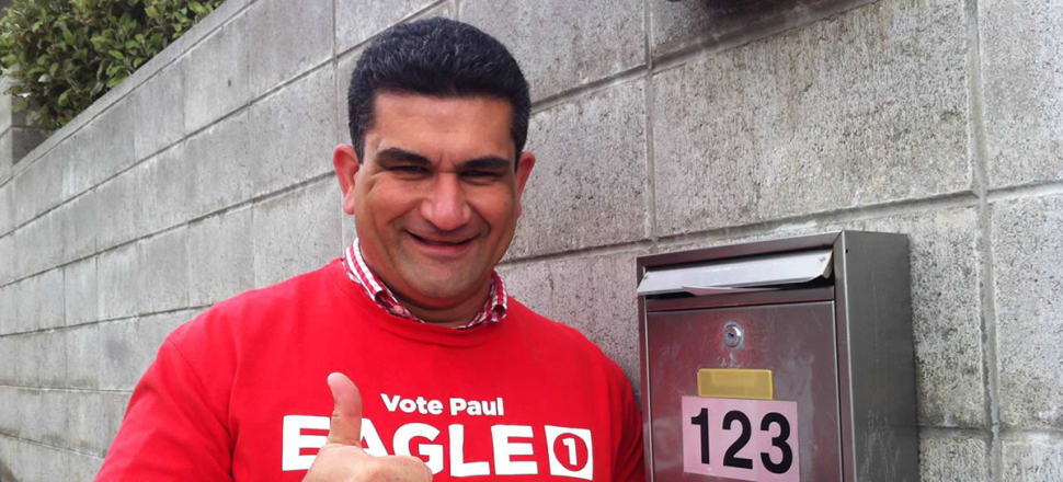 Once he takes over from Annette King in Rongotai in September, Paul Eagle will be hard to miss. Photo: NZ Labour Party