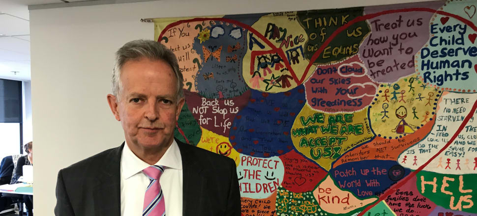 Children's Commissioner Judge Andrew Becroft: New Zealand's justice system has a second chance  to do right by Māori children. Photo: Shane Cowlishaw.