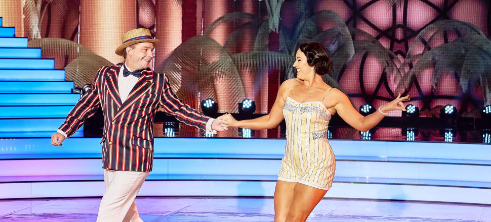 David Seymour with his dance partner Amelia McGregor on 'Dancing with the Stars'. Photo: Mediaworks