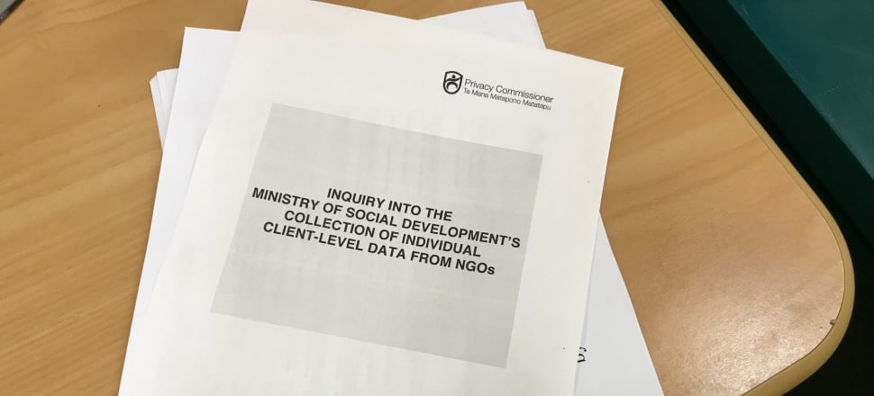 Privacy Commissioner John Edwards' report paints an unflattering picture of the government's big data plans. Photo: Shane Cowlishaw