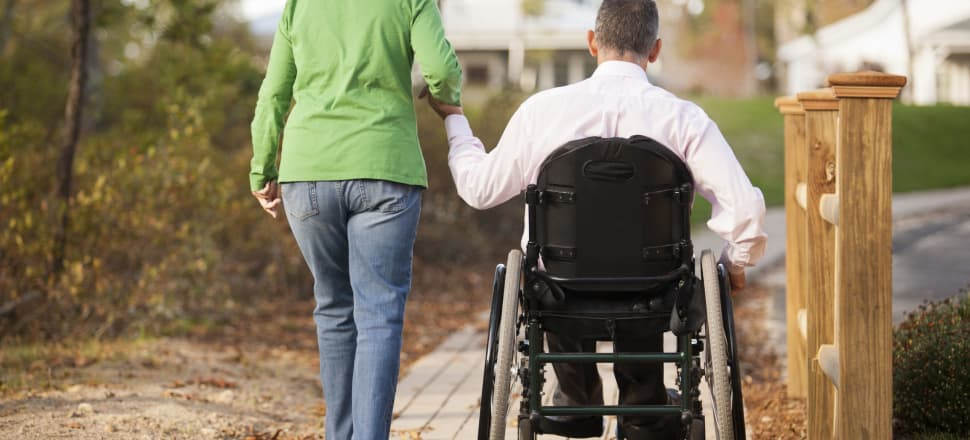 Disability rights advocates say the means testing of partners removes autonomy and choice from disabled people. Photo: Huntstock/Getty Images