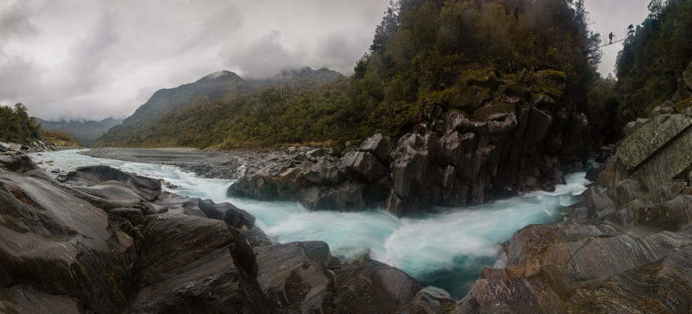The proposed hydro-electric project could reduce the flow of the Waitaha River to a trickle. Photo: Neil Silverwood