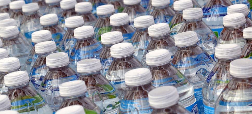 A bottled water charge could instigate a long-overdue national conversation. Photo: Daniel Orth