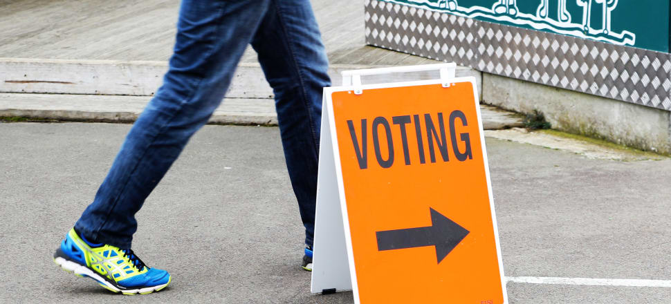 300,000 New Zealanders had already voted by the end of Friday, nearly twice as many who had voted at the same stage in the 2014 and quadruple that of 2011. Photo: Lynn Grieveson.