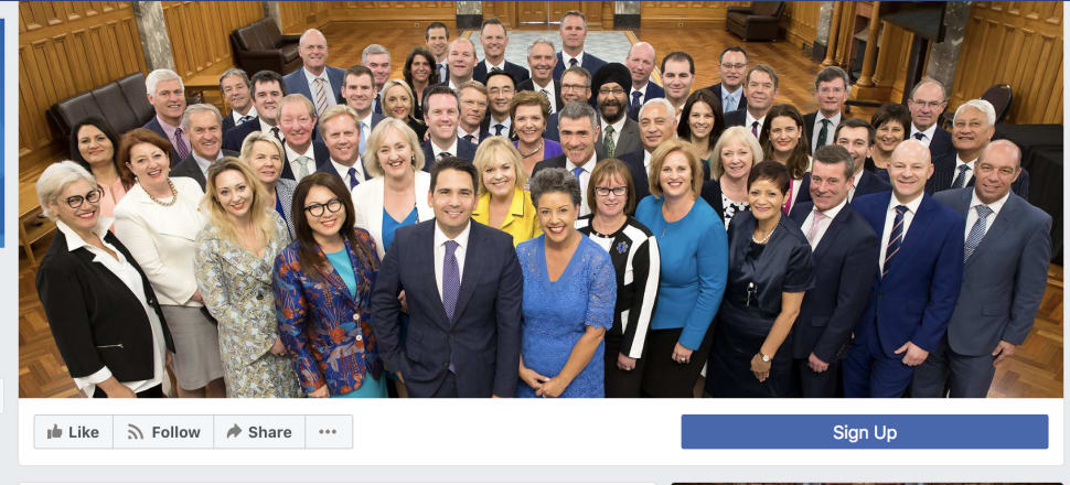 National's Facebook page, from where the ad has since been removed.