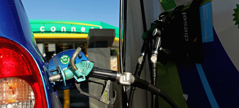 Transport Minister Simon Bridges requested information on whether fuel tax increases are needed to pay for infrastructure spending. Photo: Getty Images