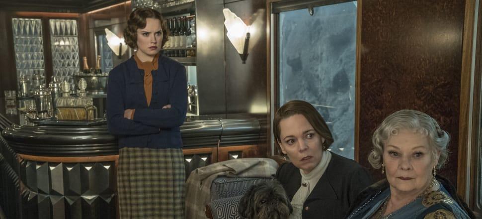 Daisy Ridley, Olivia Colman, and Judi Dench on the ill-fated journey. Photo: 20th Century Fox