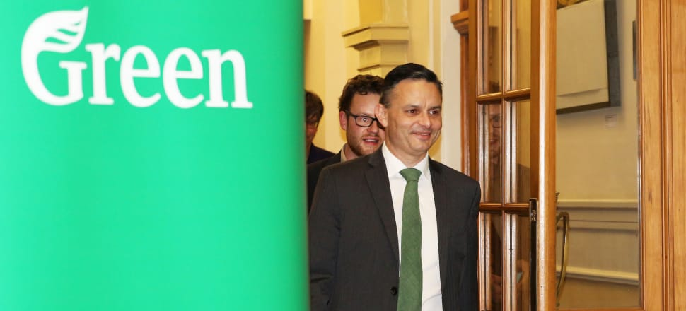Television and coverage ceased before the Green Party had even finished its deliberations. Photo: Lynn Grieveson