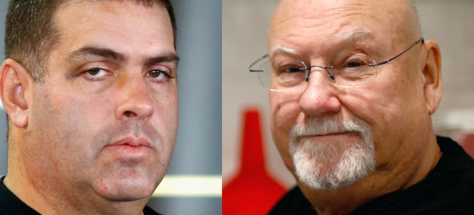 """Blogger Cameron Slater, left, is promising a """"series of articles"""" on Newsroom's treatment of Sir Ray Avery, right. Photos: Getty Images"""