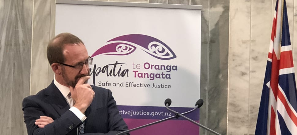 Andrew Little has bold plans to reform the justice system but will face a raft of challenges to push through the changes he wants. Photo: Shane Cowlishaw