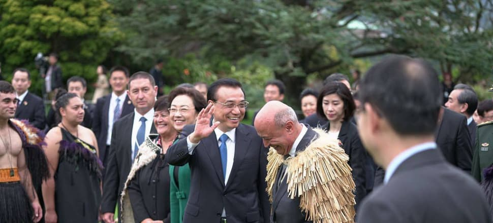 New Zealand and China signed a memorandum of understanding on the Belt and Road Initiative during Chinese Premier Li Keqiang's visit earlier this year. Photo: Supplied