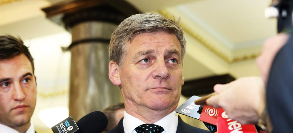 Prime Minister Bill English is portrayed as being a solid, dependable family man, so questions about his honesty are particularly damaging. Photo: Lynn Grieveson