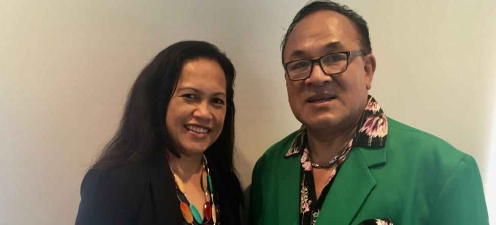 At the coalface of NZ's mental health system: Dr Lisi Petaia and veteran mental health nurse Fuimaono Karl Pulotu-Endemann. Photo: Teuila Fuatai.