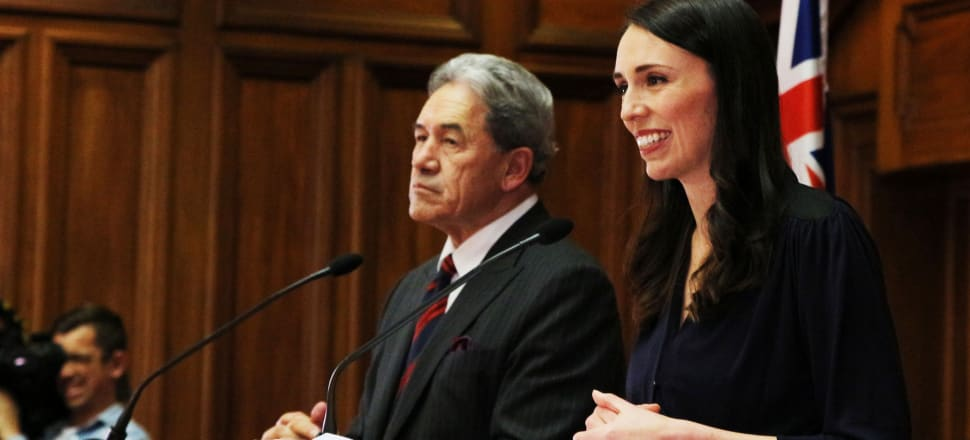 With New Zealand First at her side, Jacinda Ardern has the best chance in a generation to return Labour's to its nation-building roots. Photo: Lynn Grieveson