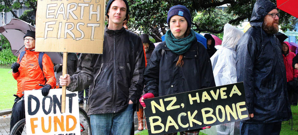 "Labour says New Zealand needs to ""grasp the nettle"" on climate change; National is keen to reassure businesses they won't be left at a disadvantage. Photo: Lynn Grieveson"