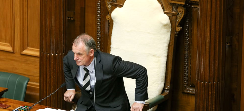 New Speaker Trevor Mallard hopes he won't be forced to his feet too often in the House. Photo: Hagen Hopkins/Getty Images.