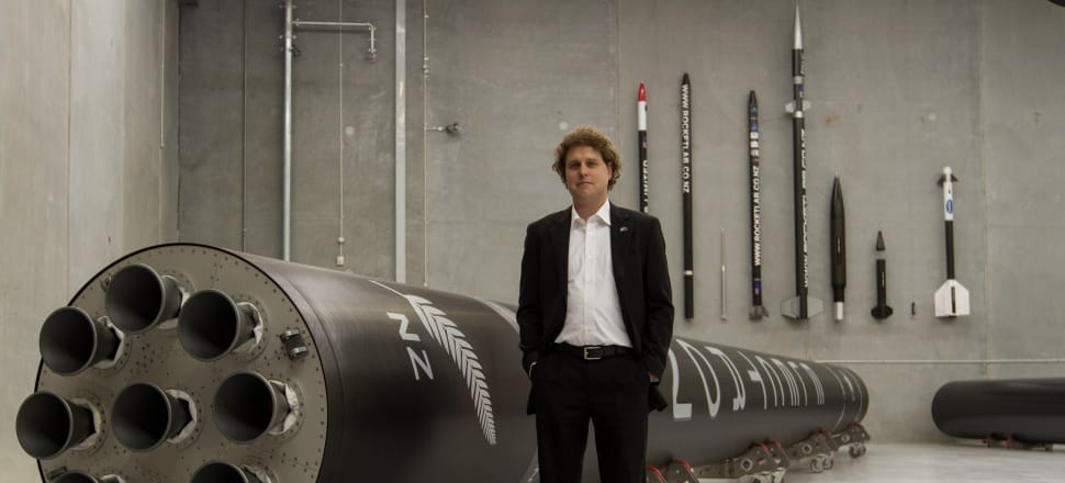 Peter Beck's Rocket Lab has benefited from cutting edge carbon technology developed by Team New Zealand. Photo: Rocket Lab