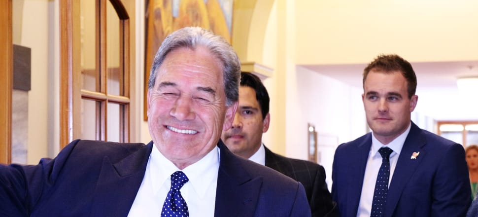 Winston Peters is feeling confident going into the election. Photo: Lynn Grieveson