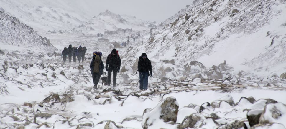 Many mountaineers say it's not worth endangering more lives to bring down those who are already lost. Photo: AP