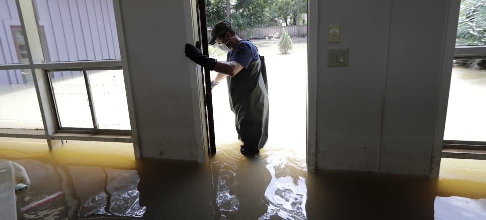 With climate change making storms like Harvey more common, the insurance industry needs to find a way to diversify this ever increasing risk to maintain its viability. Photo: AP