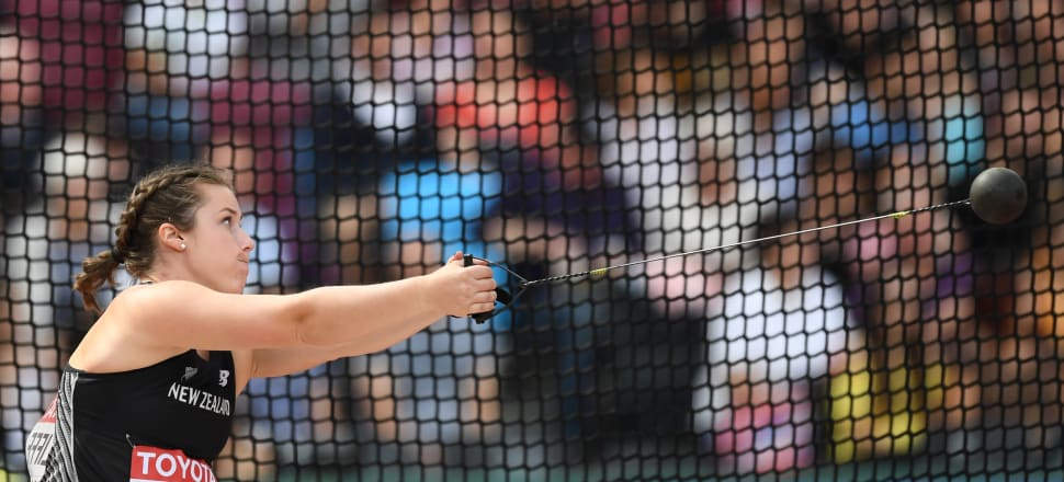 """Commonwealth Games champion hammer thrower Julia Ratcliffe says throwing has taught her """"that as a strong girl I should be proud of what my body can do"""".  Photo: Getty Images."""