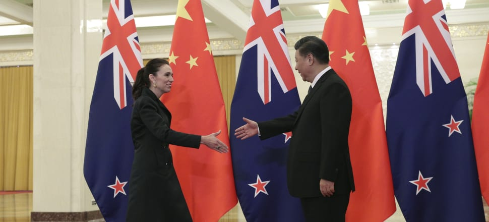 There was plenty of talk about Jacinda Ardern benefiting from a photo-op with Xi Jinping, but the Chinese president had his own reasons to want to be pictured with her. Photo: Getty Images