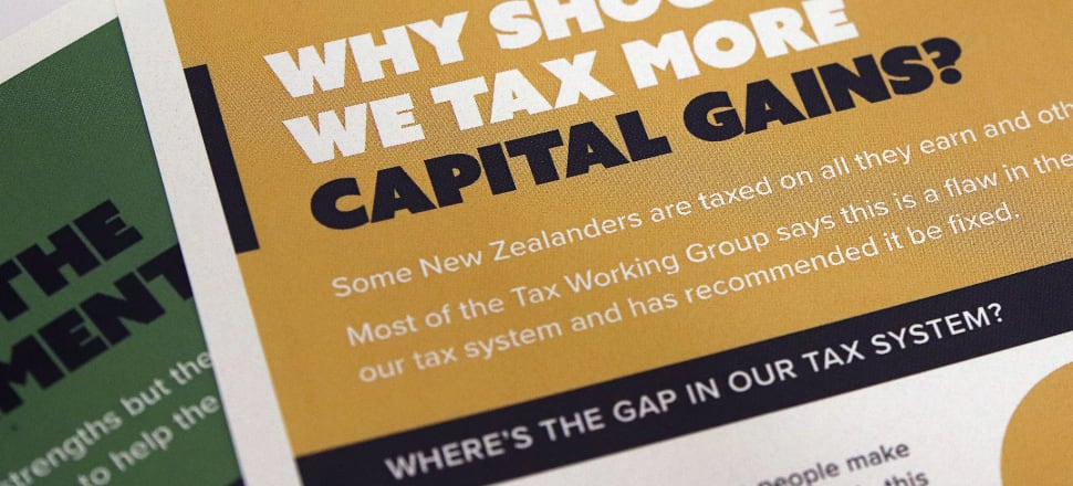 The capital gains tax recommended by the working group would become effective on April 1, 2021. Photo: Lynn Grieveson