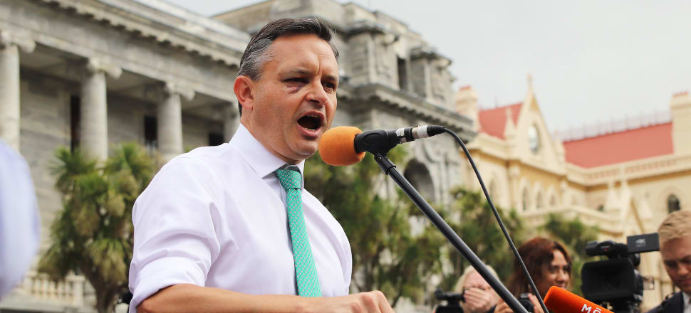 Statistics Minister James Shaw has told National to back off in criticising the 2018 Census. Photo: Lynn Grieveson