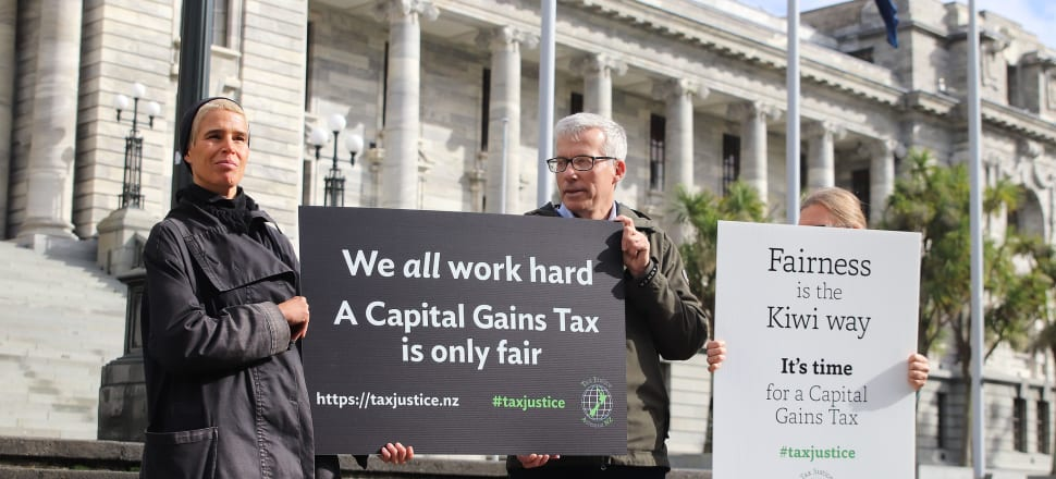 "The formal launch of Tax Justice Aotearoa ""hardly suggested a cause with a strong groundswell of public interest underpinning it"". Photo: Lynn Grieveson"
