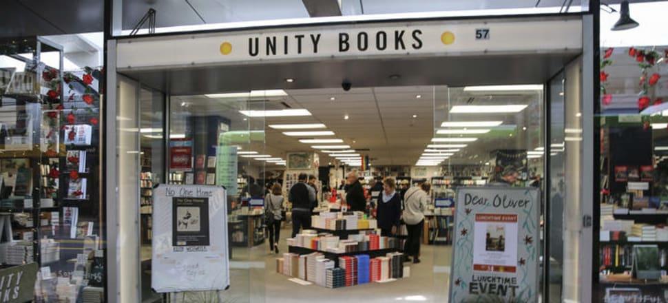 Unity Books in Wellington. Photo: RNZ / Richard Tindiller