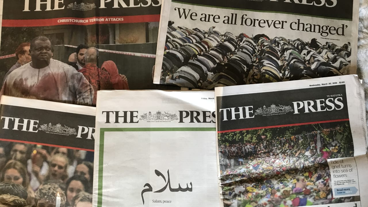 Terror in its patch: a newspaper responds