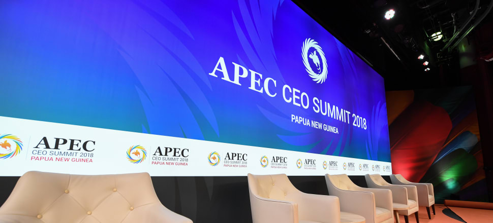 After taking place in Papua New Guinea last year, the APEC international summit is headed to New Zealand in 2021 - but a number of the early contracts signed by our officials did not follow good practice. Photo: Getty Images.