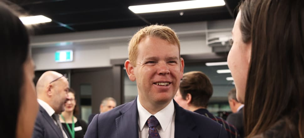 Education Minister Chris Hipkins has realised the importance of taking all of the vocational education sector on his reform journey. Photo: Lynn Grieveson
