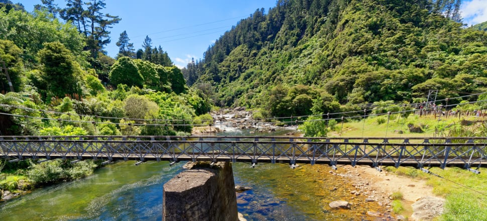 Mining is currently underway on conservation land near the Karangahake Gorge. Photo: Getty Images