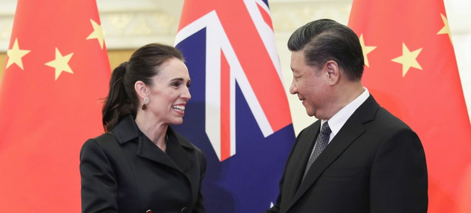 Jacinda Ardern has deviated from her usual approach, with MFAT officials raising concerns with China over its recent actions in NZ. Photo: Getty Images