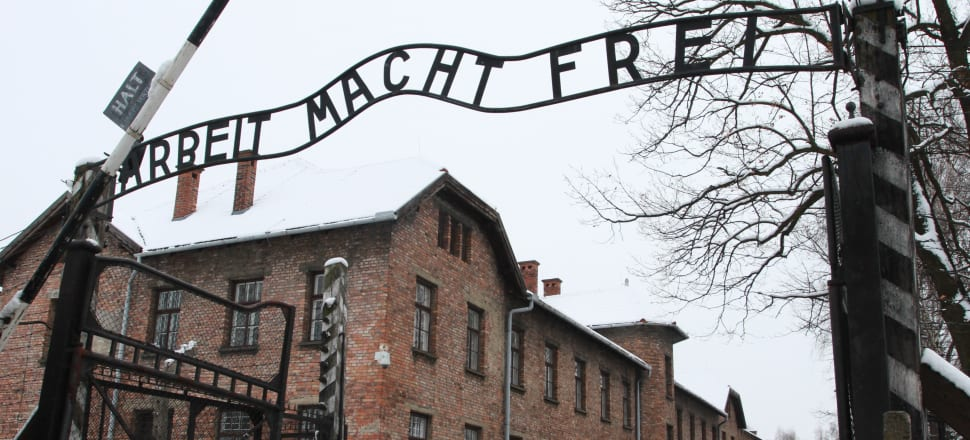 Auschwitz concentration camp. Photo: Getty Images