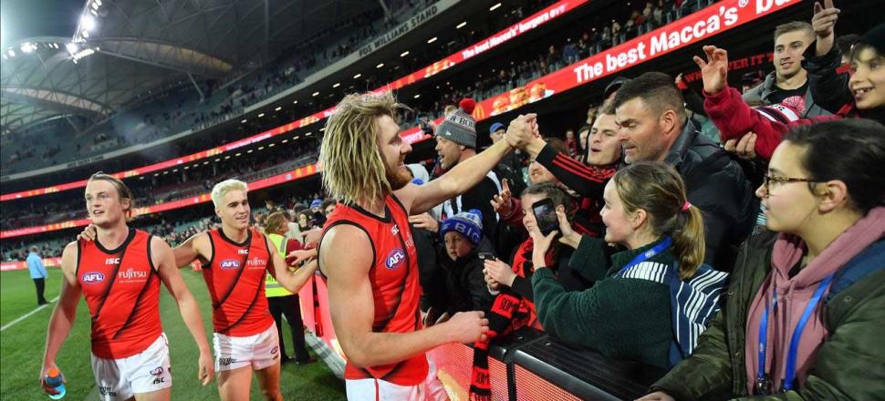 Bombers hopeful on Heppell's AFL return