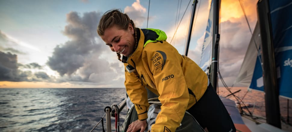Halfway round the world, after a terrifying ride through the Southern Ocean, Bianca Cook decided she wanted to do the Ocean Race again - but this time at the head of a Kiwi crew. Photo: James Blake/VOR.