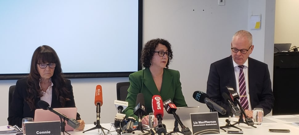 Government statistician Liz MacPherson (centre) has confirmed she will resign after problems with the 2018 Census. Photo: Marc Daalder.