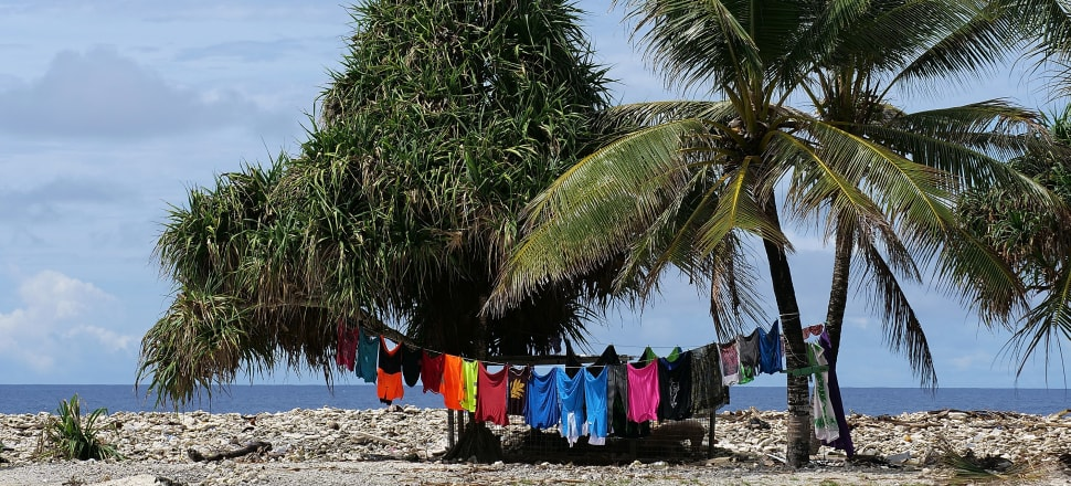 Tuvalu, the site of this year's Pacific Islands Forum, is acutely aware of the perils of climate change - will New Zealand and Australia listen? Photo: Getty Images.