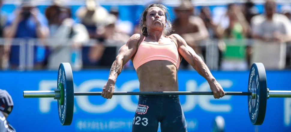 In her fourth appearance at the CrossFit Games - pitting some of the world's fittest athletes against each other - Kiwi Jamie Greene finally made the women's podium in 2019, winning bronze. Photo: CrossFit Games/Duke Loren.