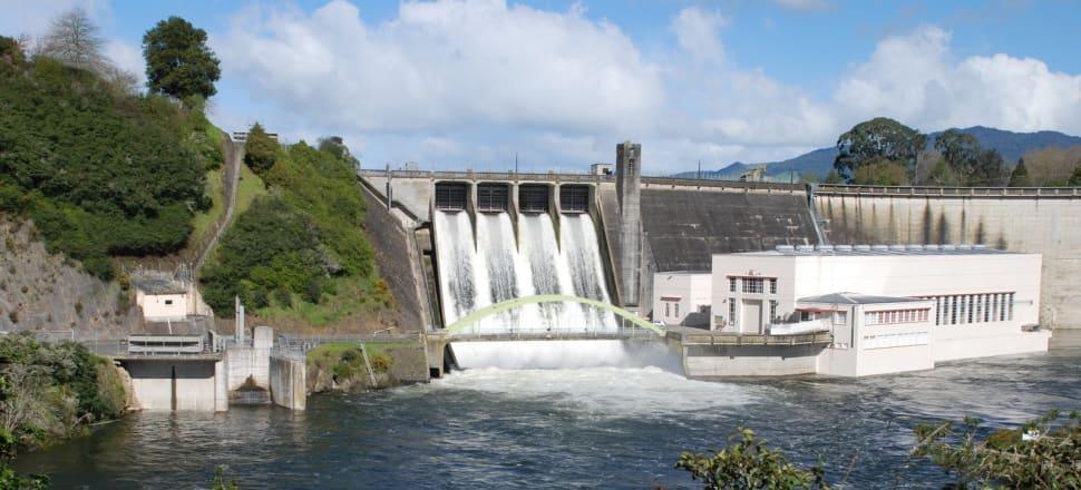 Mercury operates nine hydro dams on the Waikato river, including this one at Lake Karapiro. Photo: Flickr.